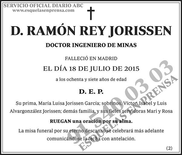 Ramón Rey Jorissen